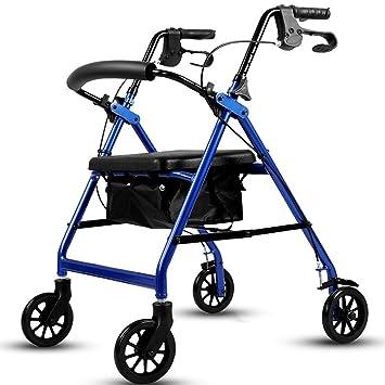 Andador El Carro se Puede sentar en la aleación de Aluminio Walker ...