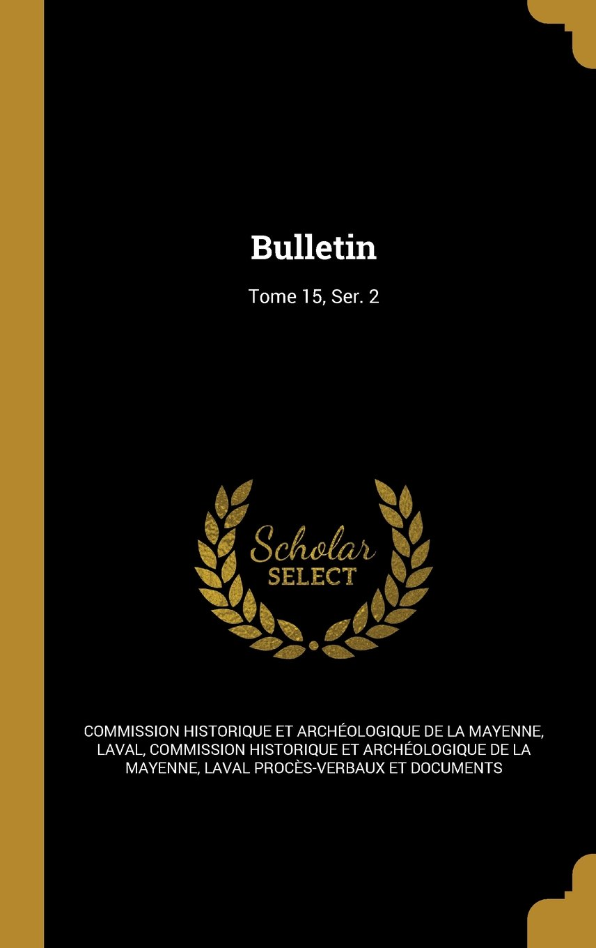 Download Bulletin; Tome 15, Ser. 2 (French Edition) Text fb2 ebook