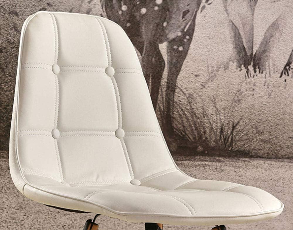 ZTBXQ Meubles Design Chaise en Cuir Table à Manger de Mode et chaises Chaise de café décontractée Chaise d\'ordinateur Chaise de négociation de réception en Cuir PU J