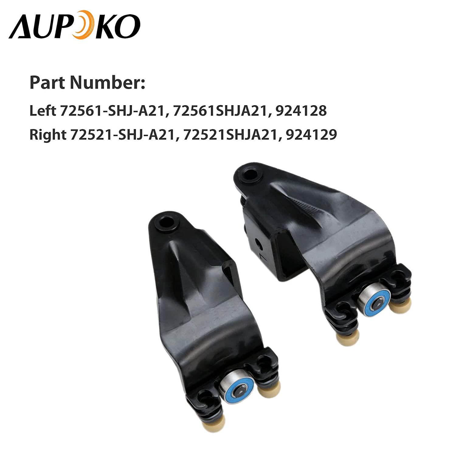 Replace# 924-129 924-128 72561-SHJ-A21 72521-SHJ-A21 Pair Power Sliding Door Roller Assembly Fits for Honda Odyssey EX EX-L Touring Model Left Driver /& Right Passenger Side Upper Center Mount Male