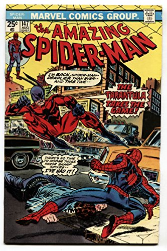 AMAZING SPIDER-MAN #147-comic book Tarantula cover VF (147 Amazing Spiderman)