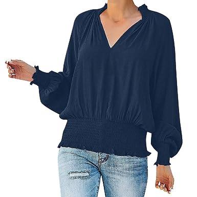 Overdose Camisas para Mujer Blusas Casuales para Mujer Tops ...