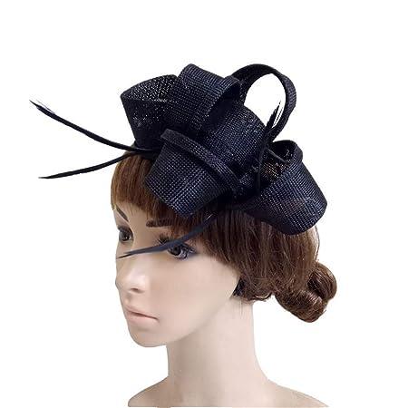 Ladies Day Hair Clip Hat Veil Womens Vintage Fascinators With Clip