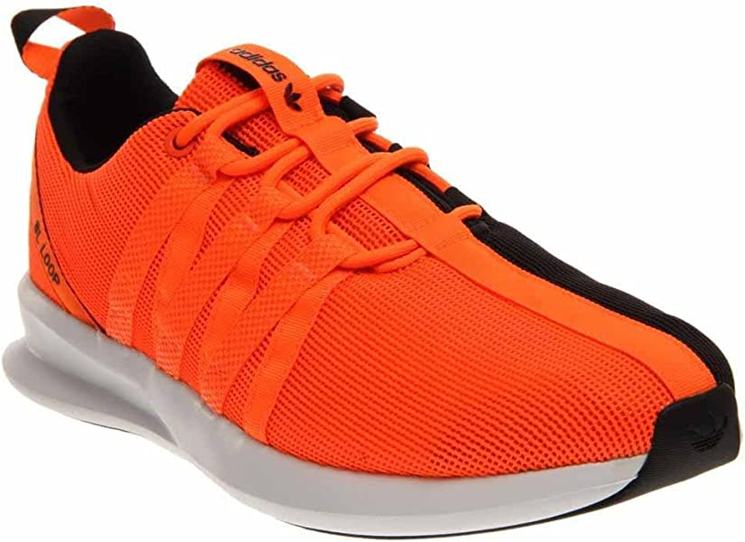 promo code 9d762 26b73 adidas C77008 Men SL Loop Racer Black Orange