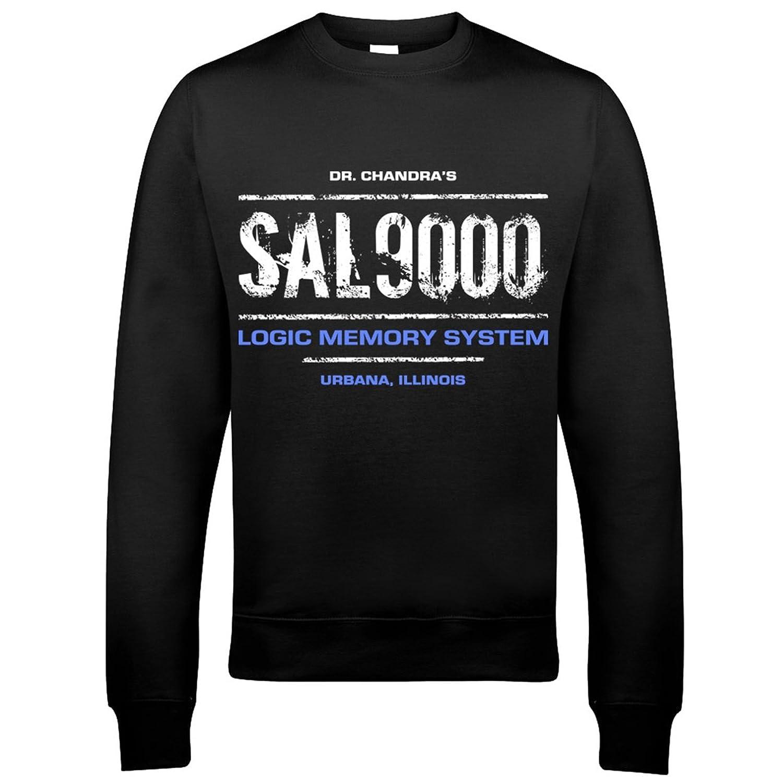 9042 SAL 9000 Mens Sweatshirt A Space Odyssey 2010 2061 Computer Hal Lunar Stanley Kubrick
