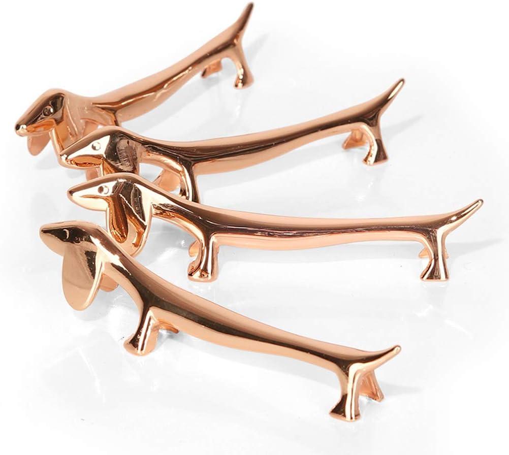oro rojo 1 Unidad Soporte Estante de Palillos Art/ículos de Decoraci/ón para Hogar Duradero