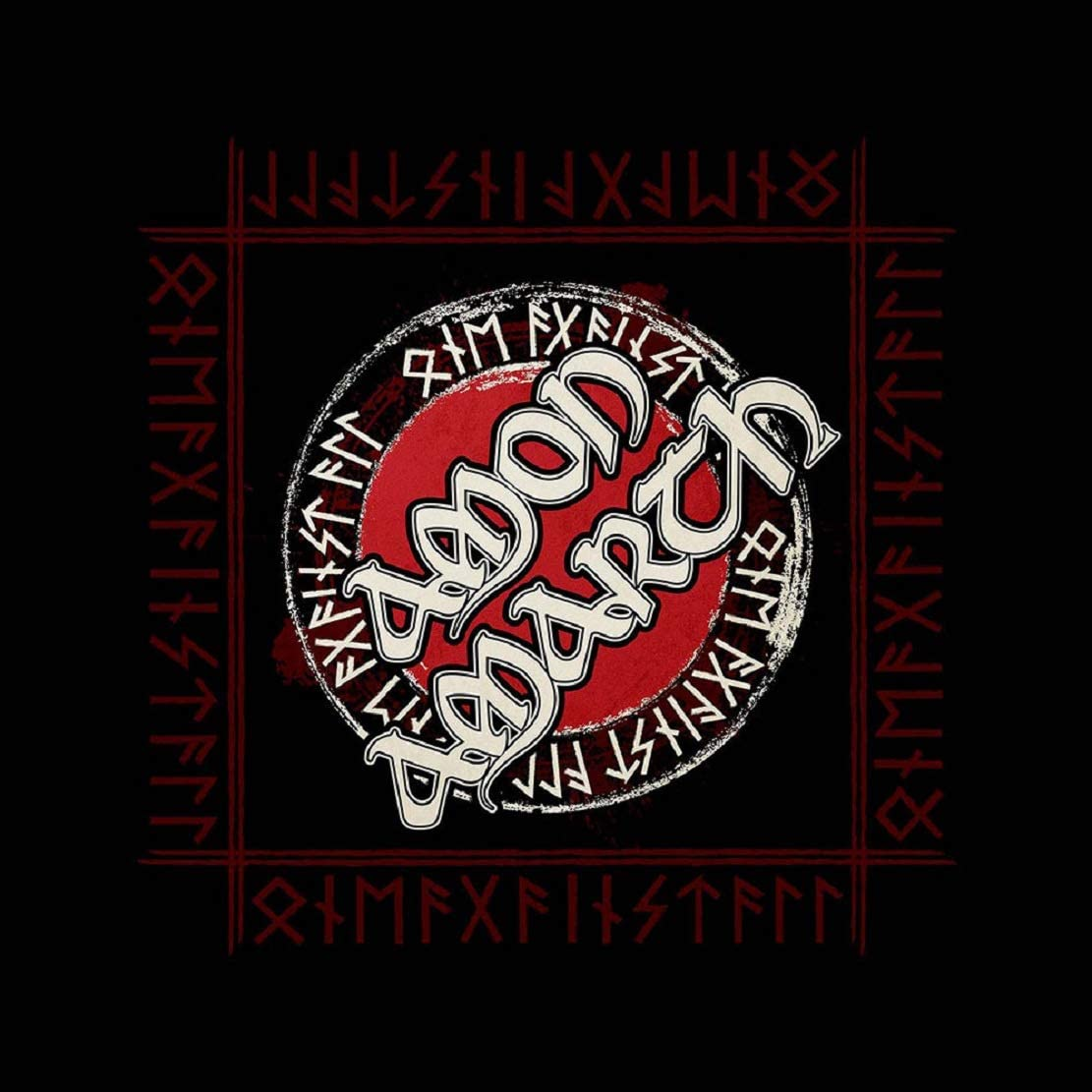 for-collectors-only Amon Amarth Bandana Runen Logo Kopftuch Tuch One Against All Hat Kopfbedeckung