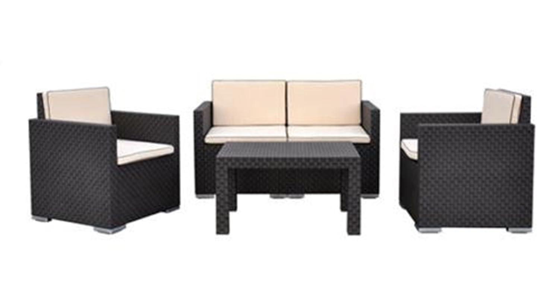 SSITG Garten Möbel Garnitur Sitzgruppe Sitzgarnitur Gartengarnitur Stühle Tisch Neu