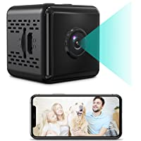 CANDANA Home Security Hidden Spy Camera-Small Mini Camera-Wireless WiFi 1080P HD Cameras with Voice, Video and App, Baby…
