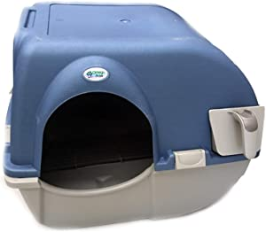 Omega Paw Self Cleaning Litter Blue Top Box, 0.4 Pound