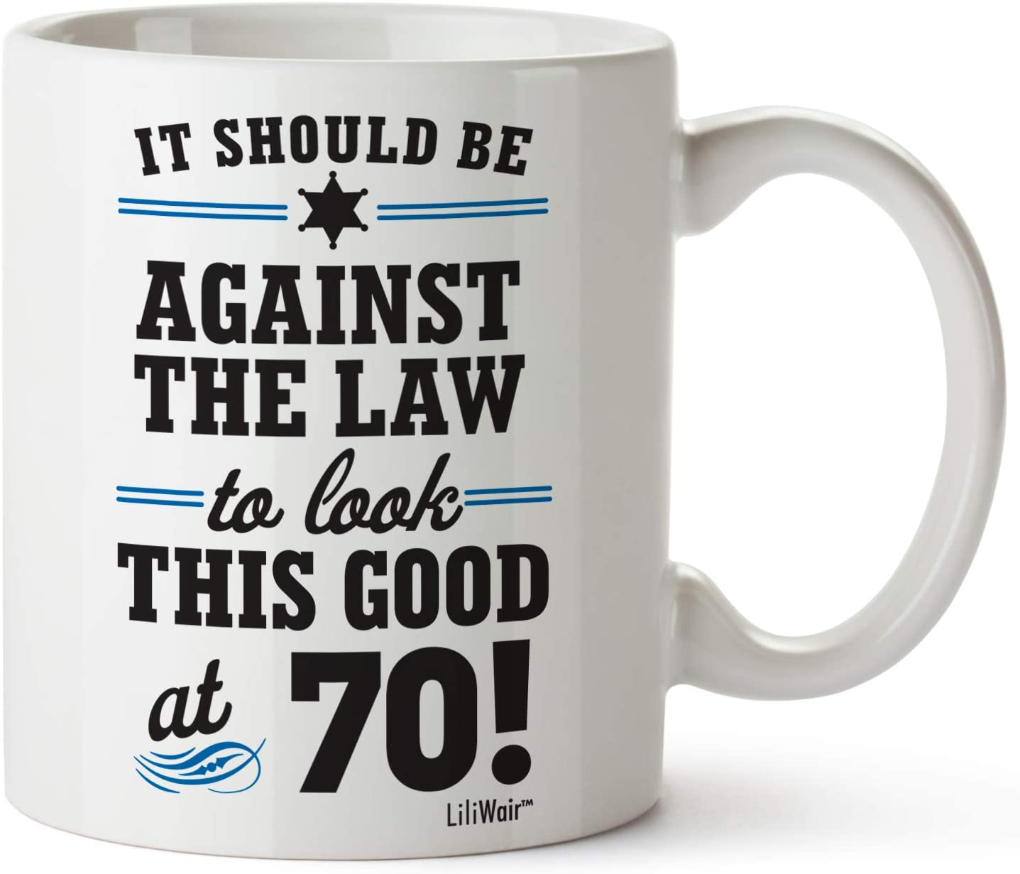 1950 70th Birthday Gifts Men Women | Birthday Gift for Man Woman turning 70 | Funny 70 th Party Supplies Decorations Ideas | Seventy Year Old Bday Coffee Mug | 70 Years Gag Office Cups Presents Mens