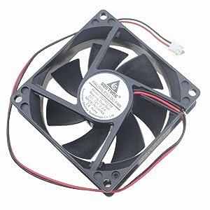 Gdstime 80mm x 25mm 8025B 12V Dual Ball Bearing DC Brushless Cooling Fan