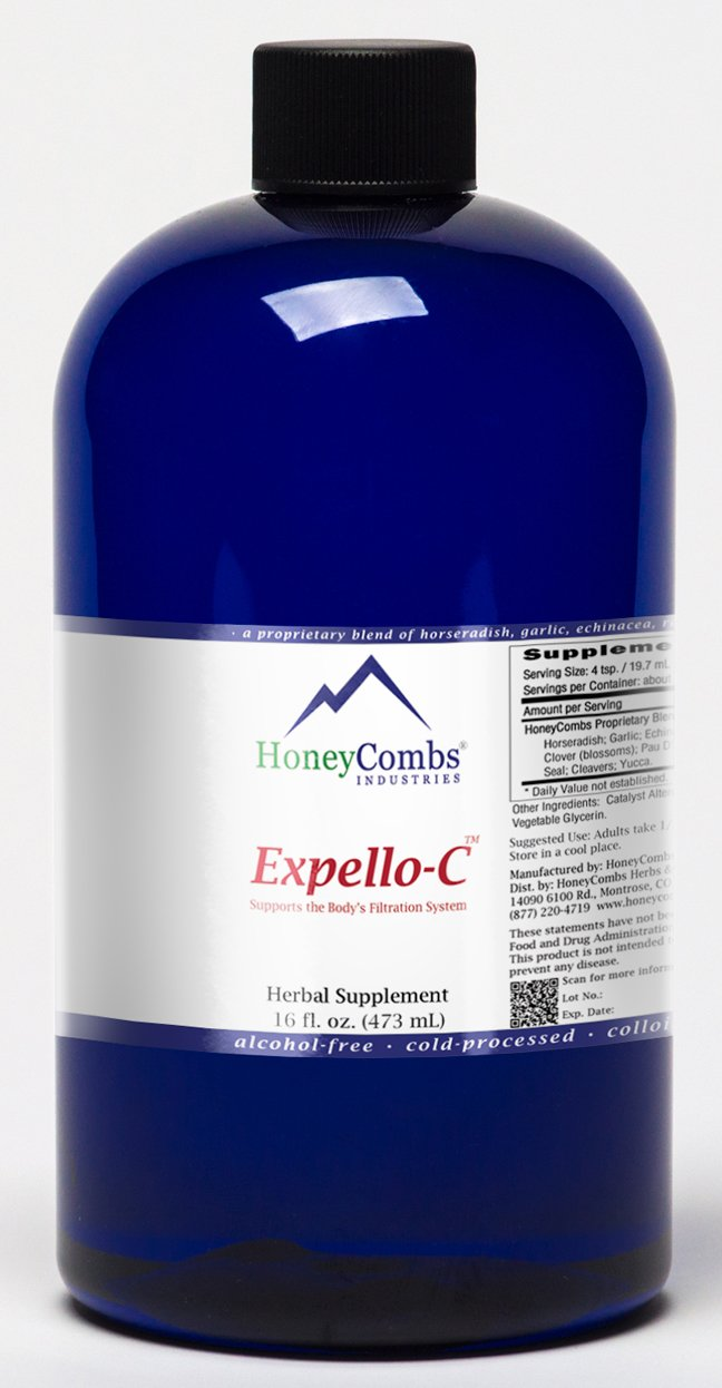 Expello-C Ultimate Cellular Detox for Carcinogens, Toxins and More Alcohol-Free Liquid Extract