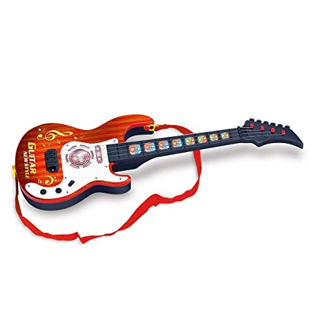 Amazon.com: PeleusTech® 21inch 4 Strings Electric Guitar Rock Star Musical Instruments Educational Toy for Kids, Children, Boys and Girls - (Type A): Toys & ...