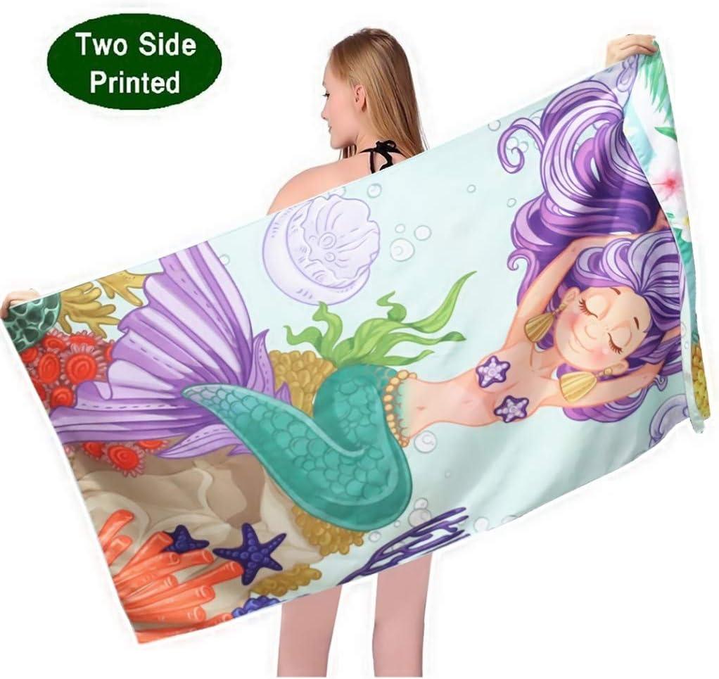 CPony Princess Mandala Microfiber Pool Towel