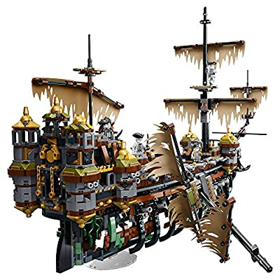 LEGO Pirates of The Caribbean Silent Mary 71042 Building Kit Ship: Toys & Games