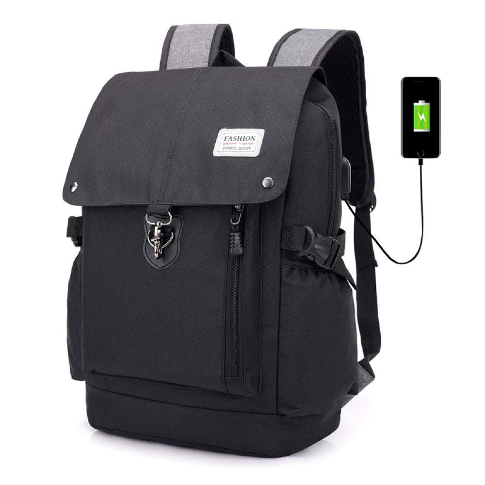 LXIANGP メンズビジネスバックパック、USB充電アウトドア旅行盗難防止学生バッグラップトップバッグ31 * 15 * 47 cm B07L9XN6QH B