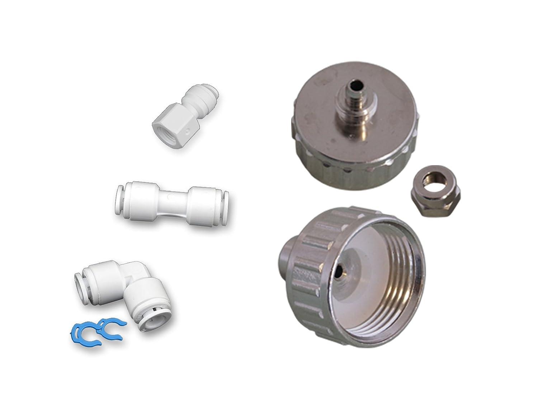 Aeg Kühlschrank Filter Wechseln : As m m wasserzulaufleitung anschluss set für kühlschrank side by