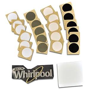 Whirlpool W10395148 Top Mount Refrigerator Door Reversal Kit