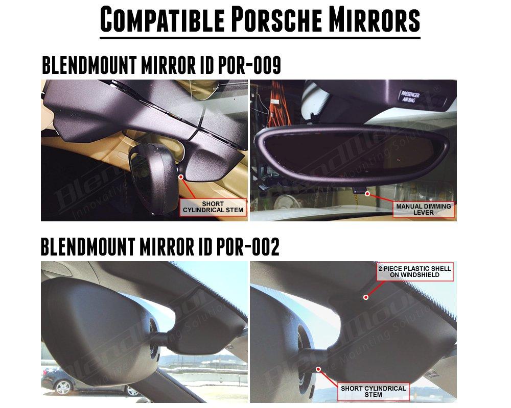 Blendmount Innovative Mounting Solutions Porsche 944 Mirror Wiring Aluminum Radar Detector Mount For Escort Max 360c Redline Ex Ix Patented