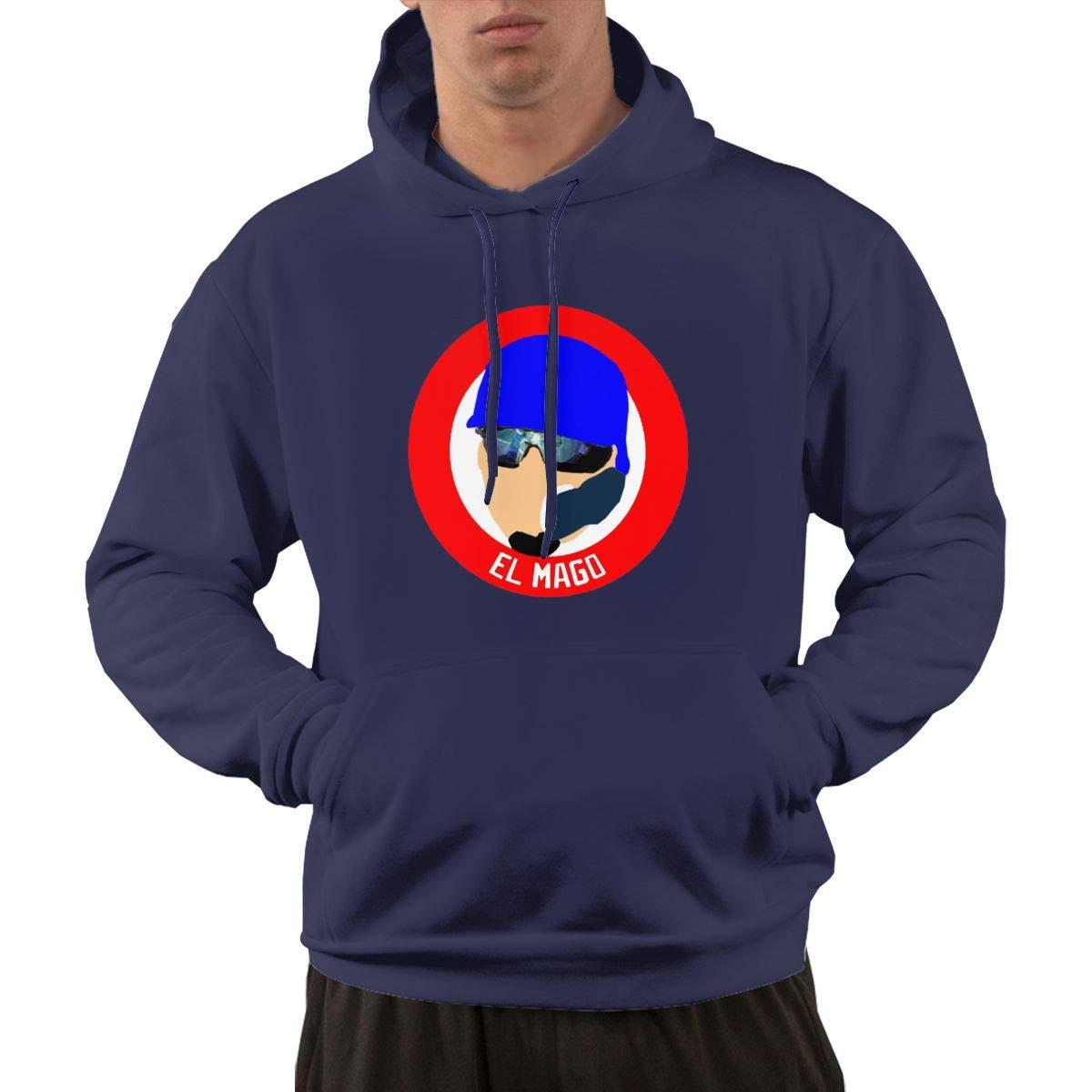 Veta Megica Mens Fashion Hoodies Chicago El Mago Casual Sweatshirt