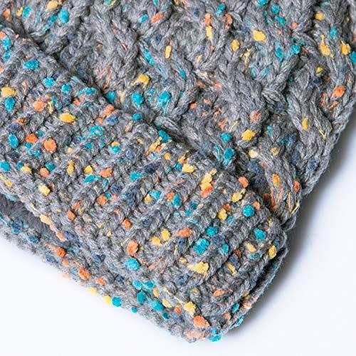 22880b200fa0d Amandir Kids Winter Hats Fleece Lined Knit Toddler Girls Beanie Baby  Confetti Warm Pom Pom Cap