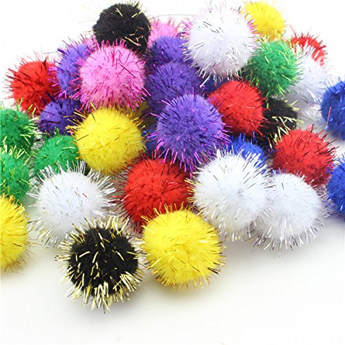 Fluffy miracle, or plaid of pom-poms
