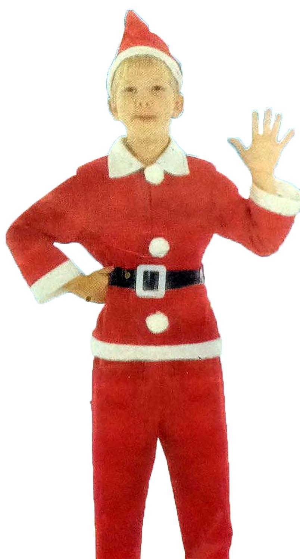 Islander Fashions Kinder Weihnachten Weihnachtsmann Kostm Kinder Heiraten Xmas Fancy Party Kleid 4-12 Jahre