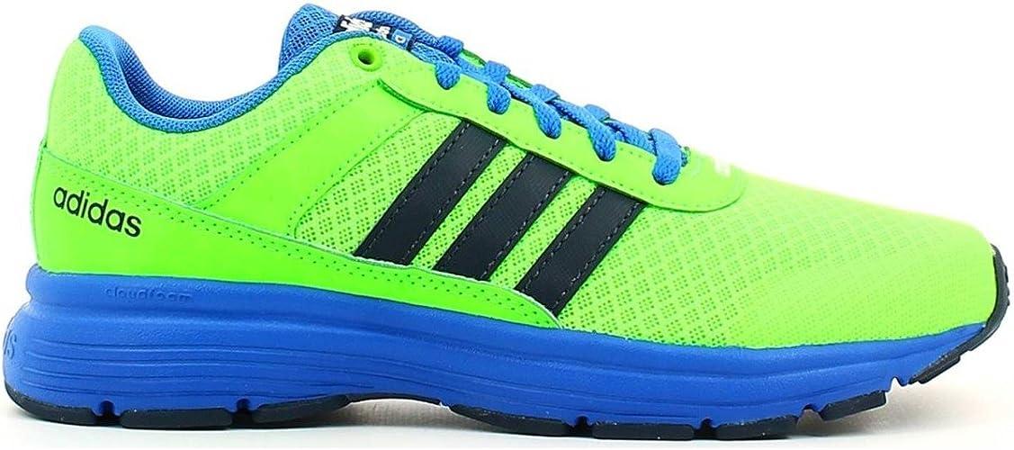 adidas NEO Boys' Cloudfoam VS City K Running Shoe, Solar Green ...