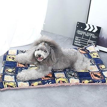 Cama ultra suave de la manta del gato del perro del animal doméstico con los estampados ...