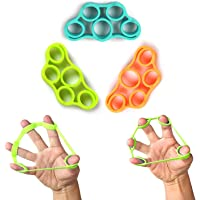 KACOOL Finger Stretcher, Hand Strengthener, Exerciser Strength Trainer Forearm Grip Workout