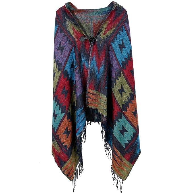 a28fa0821fb0 Women s Shawl Scarf Artificial Cashmere Scarf Thickening hooded horns  buckle shawl Versatile Warm Shawl Scarves bohemian