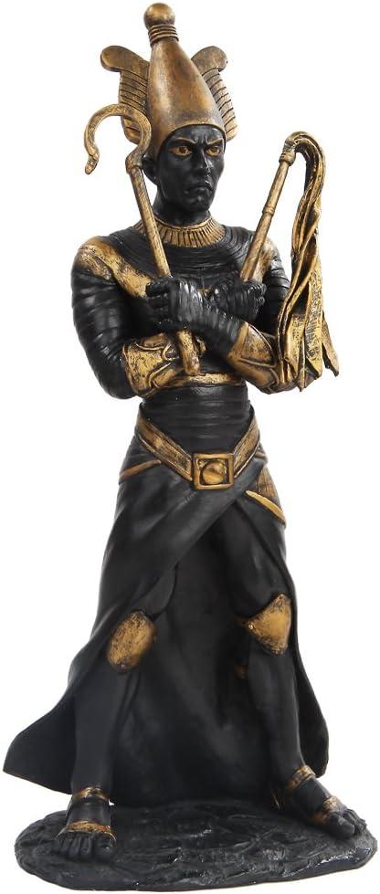PTC 11 Inch Egyptian Osiris Mythological God Resin Statue Figurine