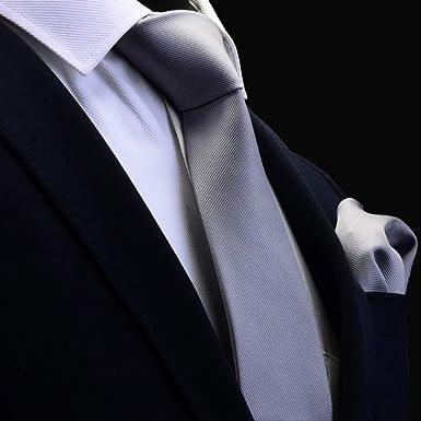 SVANQ Quality Tie Set para hombre 8cm Corbata de seda Conjuntos de ...