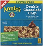 AnnieS Chewy Gluten Free Granola Bars Double Chocolate Chip 0.98 Oz Bars (Pack