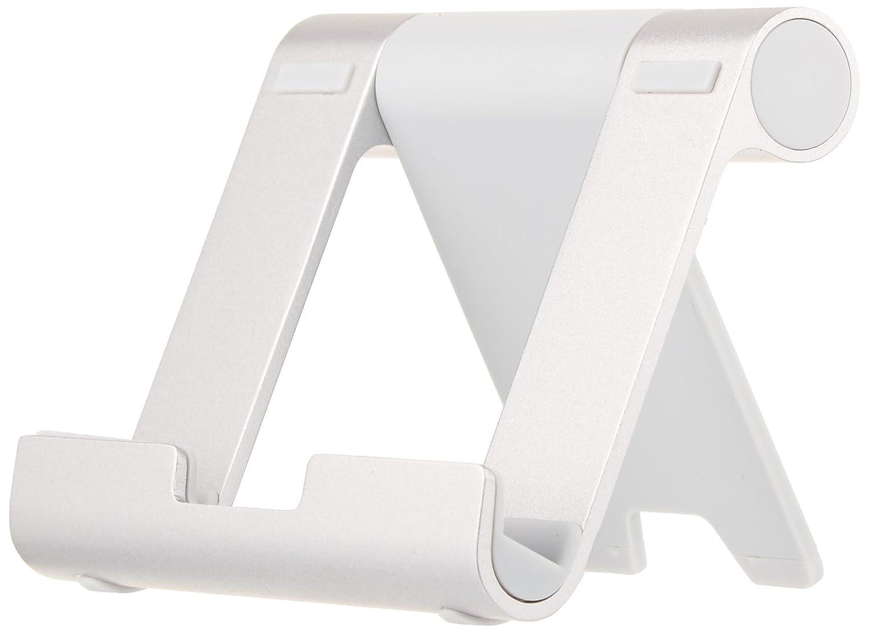 e-readers y tel/éfonos Basics Soporte multi/ángulo port/átil para tablets Plateado