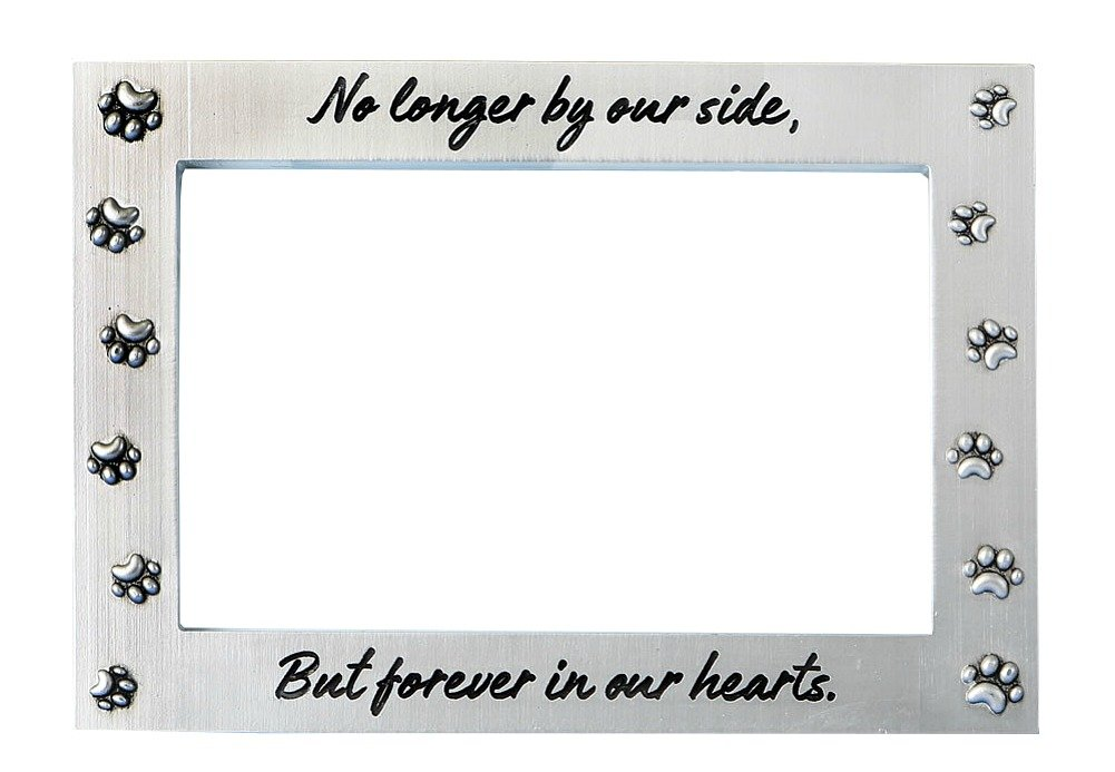 Fashioncraft No Longer By Our Side But Forever In Our Hearts Pet Memorial Picture Frame by Fashioncraft