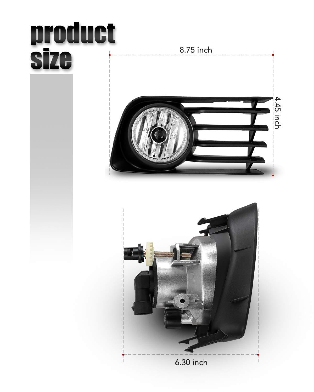 100W Halogen 2009 Infiniti QX56 Post mount spotlight 6 inch Driver side WITH install kit -Chrome