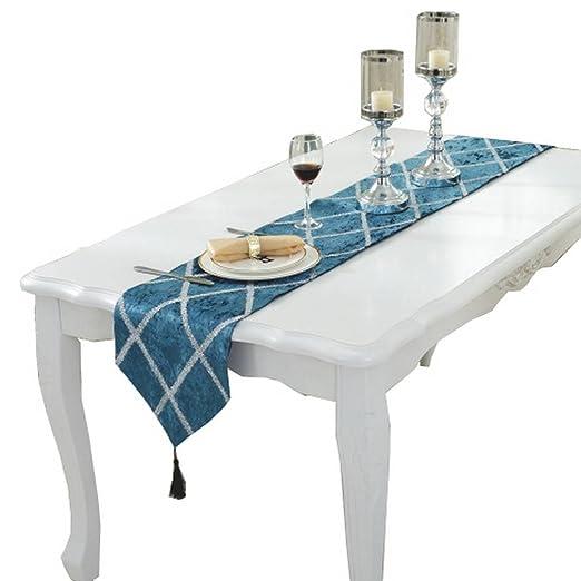 yiyilai borlas camino de mesa para Piano de cuadros para fiestas ...