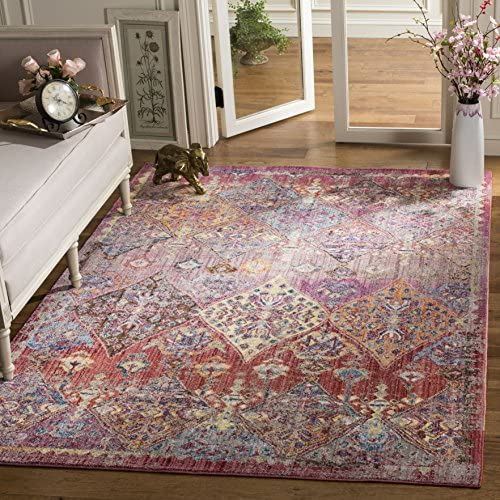 Safavieh Bristol Collection Area Rug, 8 x 10 , Rose Multi