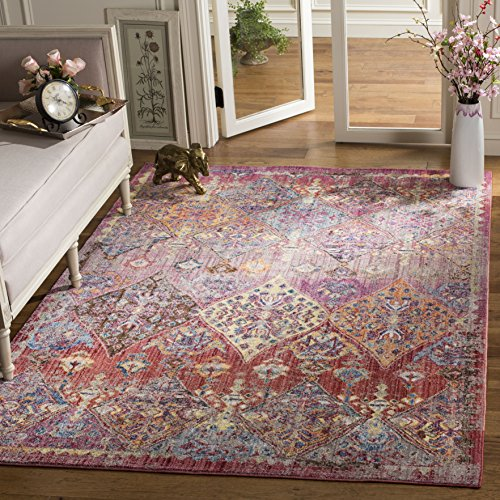 Safavieh Bristol Collection Area Rug, 3 x 5 , Rose Multi
