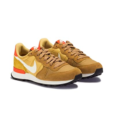 new arrival c79b2 a6a59 Nike Internationalist Ocre - Baskets Femme