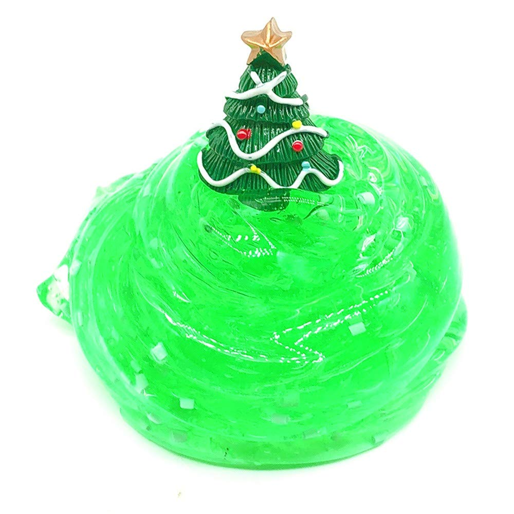 callm Christmas Slime Soft Mixing Tricky Putty Scented Stress Relief Toy Sludge Toy