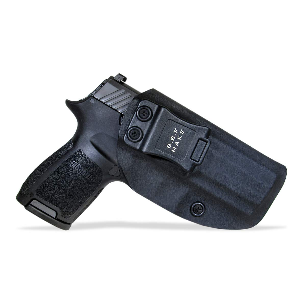 BBF Make IWB KYDEX Holster Fit: Sig Sauer P320 Carry/Compact | Retired Navy  Owned Company | Inside Waistband | Adjustable Cant | US KYDEX Made