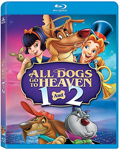 All Dogs Go to Heaven 1 & 2 [Blu-ray]