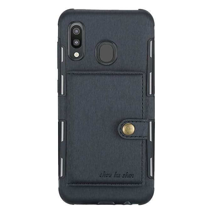 Amazon.com: Funda para Samsung Galaxy M20 M30 de piel ...