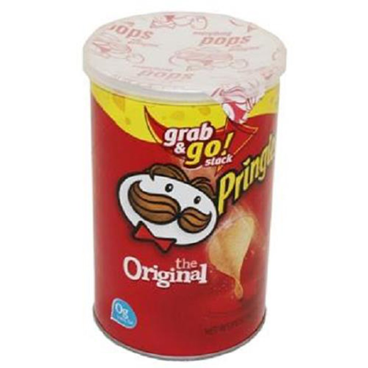 Product Of Pringles, Grab & Go - Original Medium, Count 1 - Chips / Grab Varieties & Flavors