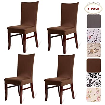 Amazon Com Bekvamtlife Stretch Dining Room Chair Covers Floral