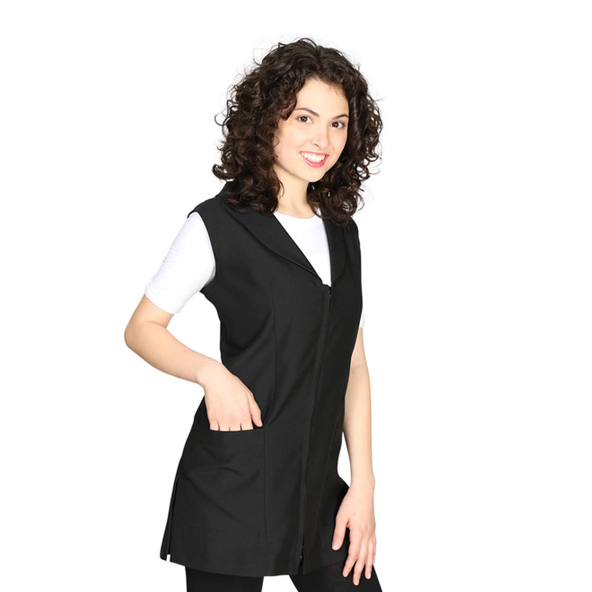 Smockers Gwen Professional Salon Vest Stylist Vest Cosmetology Uniform