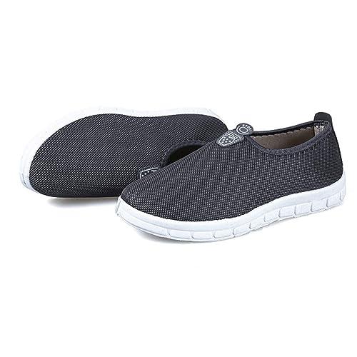 zarupeng ✦‿✦ Casual para Mujer Deportivo Zapatillas de Deporte Calzado cómodo Mocasines Respirable Zapatos Casuales: Amazon.es: Zapatos y complementos